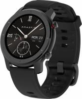 Картинка умные часы huami amazfit gtr 42 mm starry black (глобальная версия)